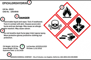 300x205 Chemical label