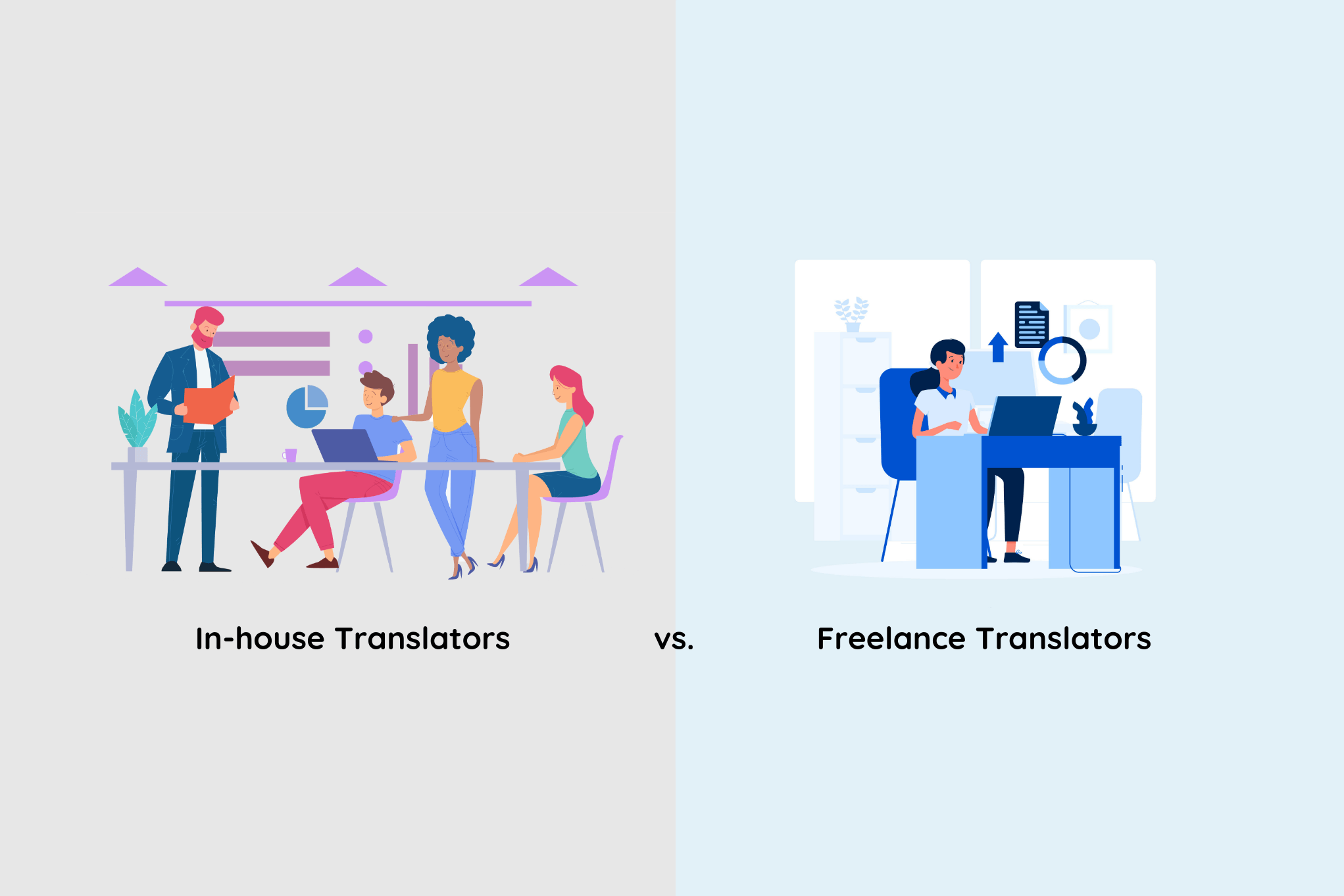 In-house vs Freelancers