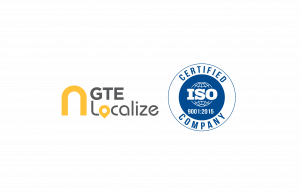 GTE Localize ISO 9001:2015