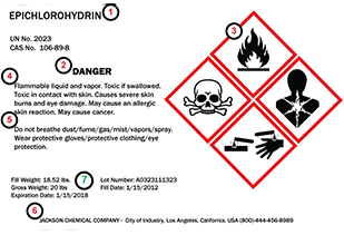 Chemical label