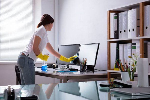 Sanitize working desk