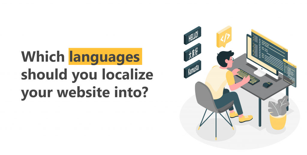 Which languages should you localize your website into?
