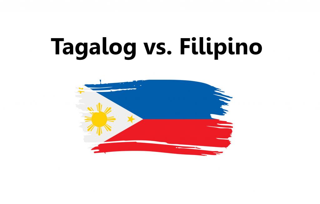 Tagalog and Filipino