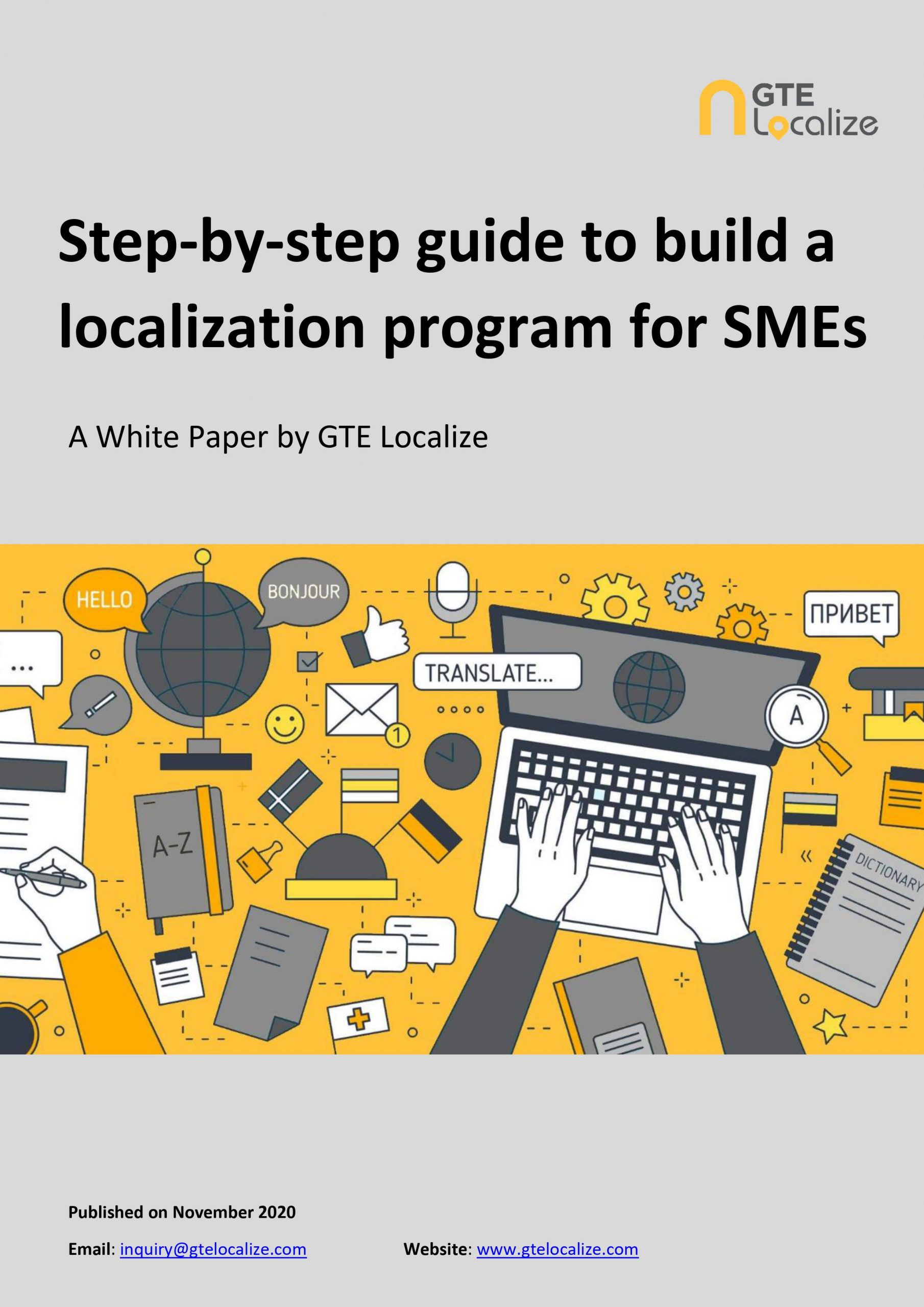 Step-by-step guide to build a localization program for SMEs