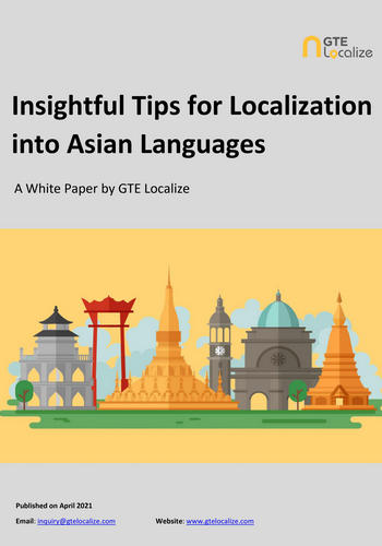 Asian localization tips
